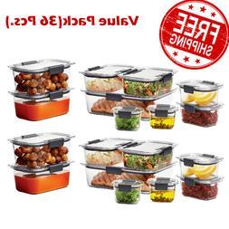 Rubbermaid Brilliance Food Storage Container Set 36-piece 2