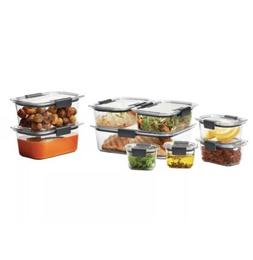 Rubbermaid Brilliance Stain & Odor Resistant Food Storage Co