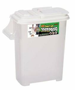 Pet Food Storage Container Dispenser Cat Feeding Bird Seed M