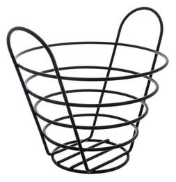 American Metalcraft BWB750 Round Wire Basket with Handles, 7