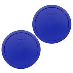 Pyrex 7403-PC 10 Cup Cadet Blue Round Plastic Storage Lid -