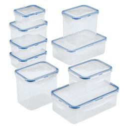 Food Storage Container Set 18pc Canister Kitchen Organizer P