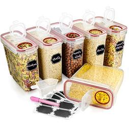 Large Cereal & Dry Food Storage Containers, Wildone Airtight