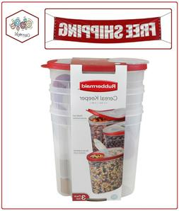 Rubbermaid Cereal Keeper Kitchen Dry Food Storage Container