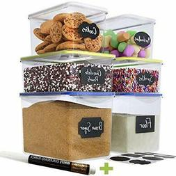 Chef's Path Cookie Jars Large Food Storage Containers - Grea