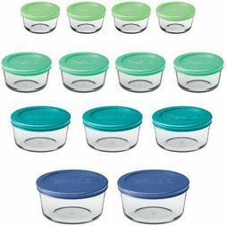 Anchor Hocking 12895ECOM Classic Glass Food Storage Containe
