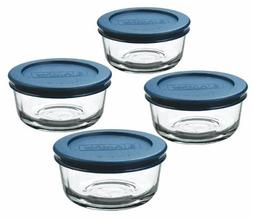 Anchor Hocking Classic Glass Food Storage Containers with 1