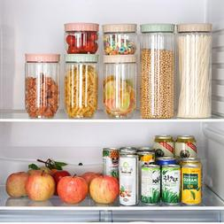 Clean Plastic Storage Can Transparent Kitchen Products Food