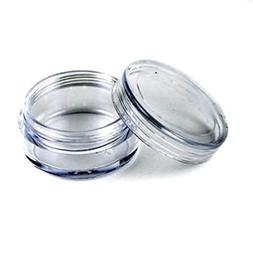 20G/20ML High Quality Clear Plastic Cosmetic Circle Smaple C