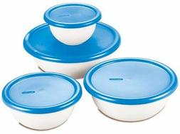 8pc Covered Bowl Set 07479406