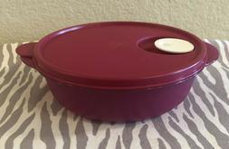 Tupperware CrystalWave Plus On Go lunch Microwave 4 Cups Dar