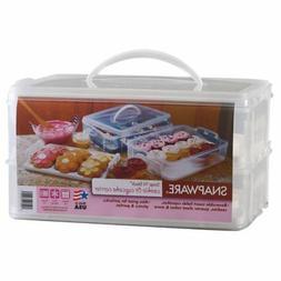 Snapware Large 2 Layer Cupcake Keeper 6032