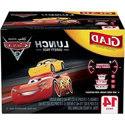 Glad Disney Cars Lunch Food Storage Containers Variety Pack,