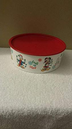 Tupperware Disney Friends Cookie Canister