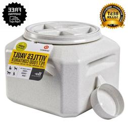 Dog Food Storage Vault Container Pet Vittles Vaults Plus 15-