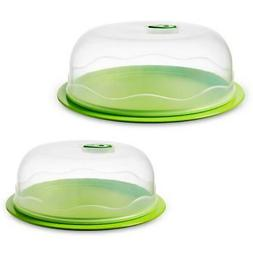 Domed Food Storage Container Nesting Set Vacuum Seal Ready S