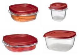 Rubbermaid Easy Find Lid Food Storage Containers, 10 Sizes