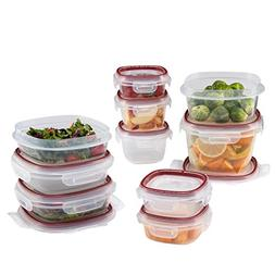 Rubbermaid Easy Find Lid Lock-Its Food Storage Container, 20