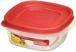 Rubbermaid 714270018701 Easy Find Lid Square 5-Cup Food Stor
