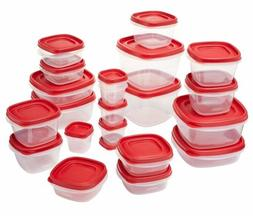 Rubbermaid Easy Find Lids Food Storage Containers, 8 Sets