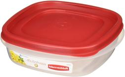Rubbermaid Easy Find Lids Square 3-Cup Food Storage Containe