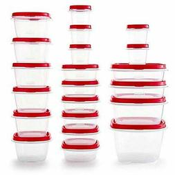 Rubbermaid Easy Vented Lids Food Storage Containers, Set of