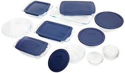 Pyrex® Easy Grab 19-pc. Bake and Prep Set with Blue Plas