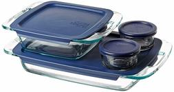 Pyrex Easy Grab Glass Bakeware and Food Storage