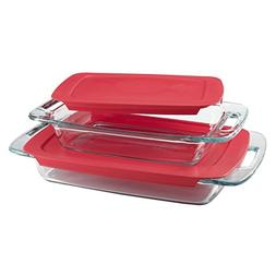 Pyrex® Easy Grab 4-pc. Oblong Baking Dish Value Pack wit