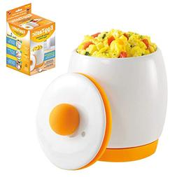 Egg-Tastic Microwave Egg Cooker and Poacher for Fast and Flu