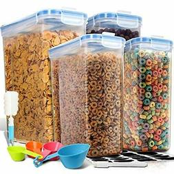 EXTRA LARGE Cereal Container, EAGMAK Airtight Dry Food Stora
