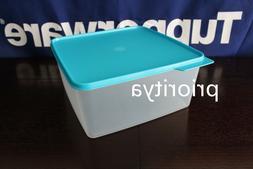 Tupperware Extra Large KeepTabs Storage Container Keeper Blu