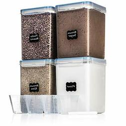 EXTRA LARGE WIDE & DEEP Food Storage Airtight Pantry Contain