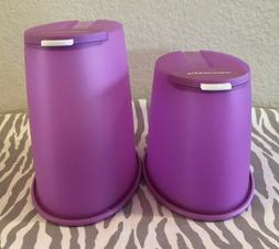 Tupperware  FIFO Storage Containers Dry Food Keeper Cereal K