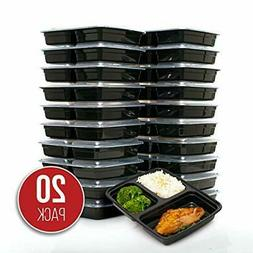 FitBoxx 39 oz Plastic Meal Prep Containers , Plastic Food St