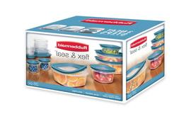 Rubbermaid Flex Seal 26 Piece Food Storage Container Set Eas