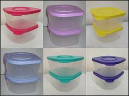 TUPPERWARE FNC Fresh 'N Cool 2-cup REFRIGERATOR CONTAINER 2