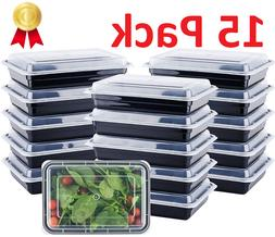 Food Containers Meal Prep Storage Bento Box Reusable Microwa