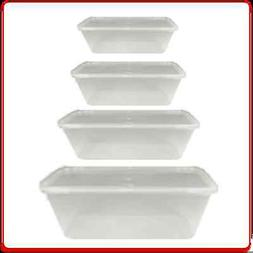 Food Containers Plastic Microwave Takeaway Freezer Safe Stor