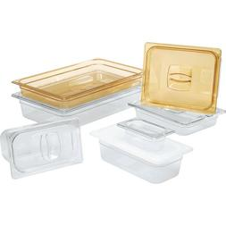 Rubbermaid Commercial Hot Food Pan Cover with Notch, 1/2 Siz