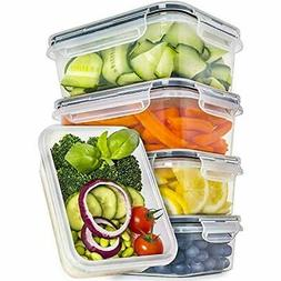 Food Storage & Organization Sets Containers With Lids 5 Pack