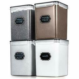 Food Storage & Organization Sets Large Airtight Containers -