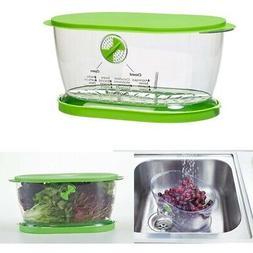 Food Storage Container 4.7 Quarts Dishwasher Safe Airtight O