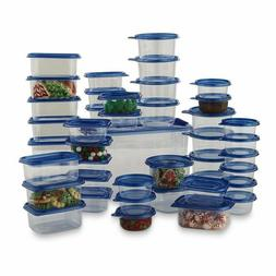Food Storage Container 88 Piece Plastic Kitchen Set Meal Pre