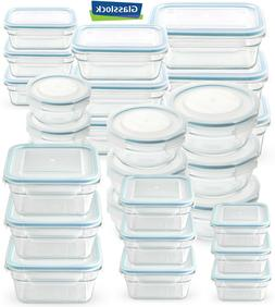 Glasslock Food-Storage Container Microwave & Oven Safe 3 Con