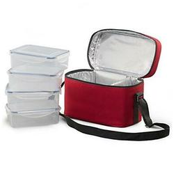 Food Storage Container,X Chef Lock and Seal Freezer Storage