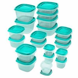 Rubbermaid Food Storage Container Set, 40 piece, Easy Find L