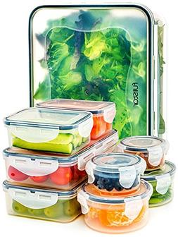 Fullstar Food Storage Containers with Lids - Airtight Leak P