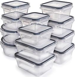 Food Storage Containers with Lids - Plastic Food Containers