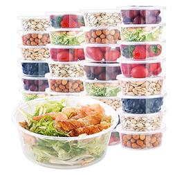 E-Gtong  Food Storage Containers with Lids , Leakproof Plast